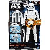 Star Wars Rogue One - Figura Stormtrooper Imperial, 30 cm, con luces y sonidos (Hasbro B7098105)