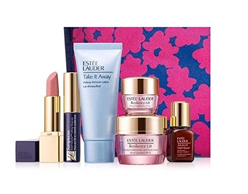 Estee Lauder Resilience Lift 7 Piece Gift Set W/ Travel Tote