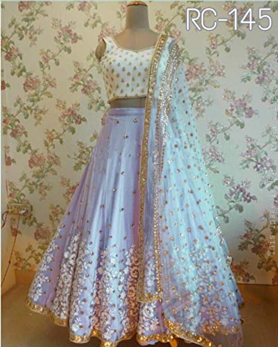Pour Indien Choli Stitch Designer Fashions Semi Femmes Lehenga Exclusif Amit PwE048Xqxx