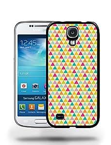 Vintage Retro Fun Rainbow Triangle Wallpaper Pattern Phone Case Cover Designs for Samsung Galaxy S4
