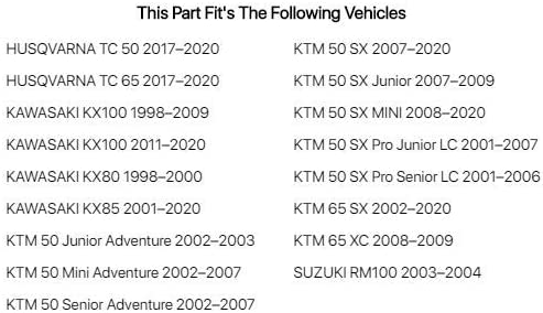 KTM 50 SX 2007-2019 Raven Exhaust O-ring /& Spring Kit Fits