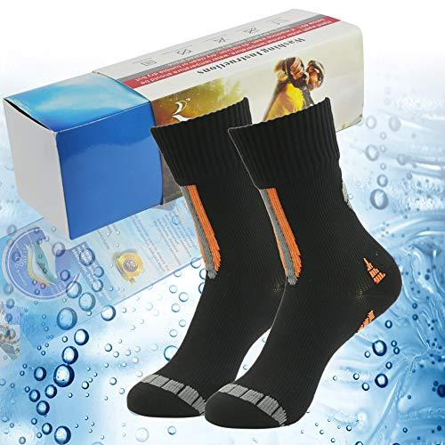 100% Waterproof Christmas Gift Socks, RANDY SUN Men's Socks-The Best Socks For Trail Running Obstacles Courses Size M -