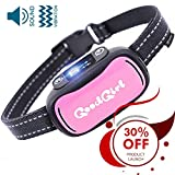GoodBoy Humane Dog Bark Collar Small, Medium Large Breeds - Sound Vibration Modes Control Unwanted Barking - Rechargeable No Bark Training Device 2019 Upgraded Sensor Chip
