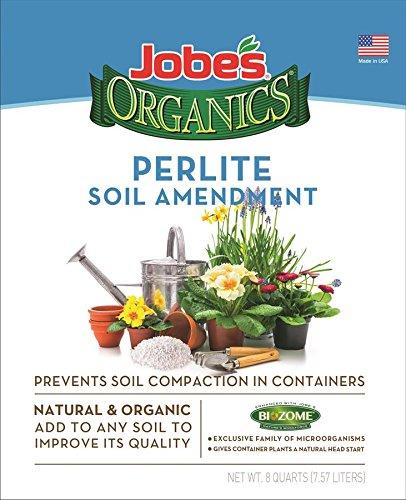 Jobe's Organics Perlite - 8 Quart - 8 Quart Easy Gardener Soils 8878