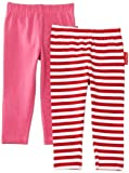 Toby Tiger Pink Leggings 2 Pack (4-5 Years)