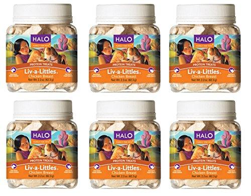 Liv-a-Littles (6 - 2.2 ounce Pack (Halo Treats)