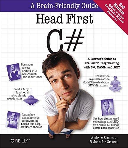 Head First C# 3rd edition by Greene, Jennifer, Stellman, Andrew (2013) Taschenbuch