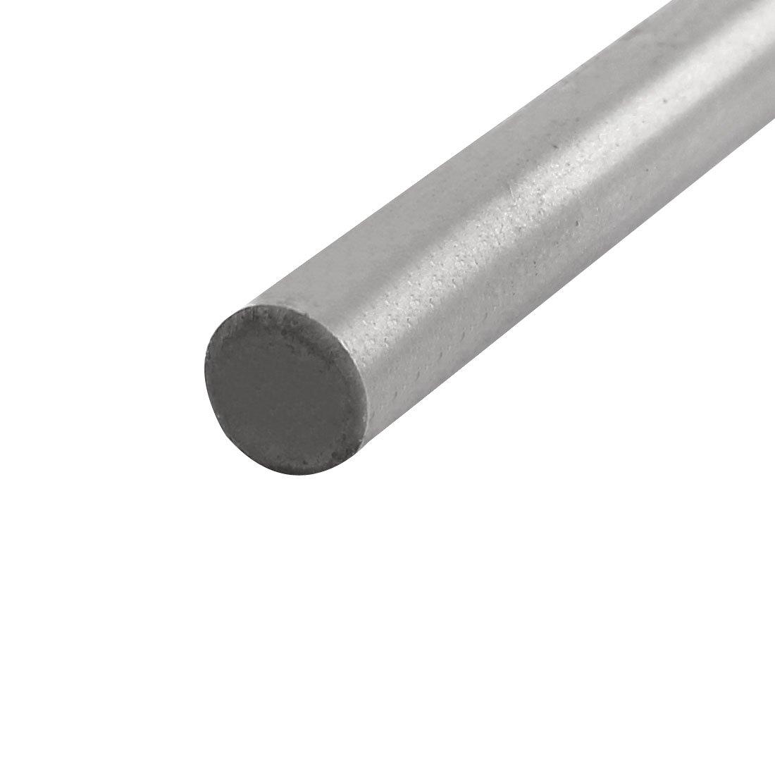 uxcell 12mm Drilling Dia 400mm Length HSS Round Shank Twist Drill Bit Silver Tone