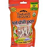 yummy earth chili - Yummy Earth Organic Hot Chili Lollipops - 3 Oz - Case Of 6