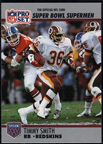 Football NFL 1990-91 Pro Set Super Bowl 160 #43 Timmy Smith NM-MT ()