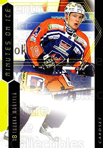 fan products of (CI) Tuukka Mantyla Hockey Card 2010-11 Finnish Cardset Minutes On Ice 9 Tuukka Mantyla