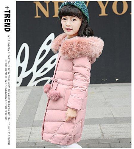 862eb70139aa7 森本ネット通販)ダウンジャケット キッズ 子供服 女の子 ダウンコート 子どもコート ロング. メイン素材  ポリエステル アヒルダウンを90%使用柔らかくて保温性にも  ...