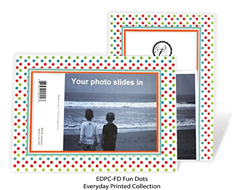 - Holiday Fun Dots - 4x6 Photo Insert Note Cards - 24 Pack by Plymouth Cards