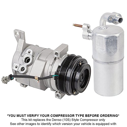 Premium Quality New AC Compressor & Clutch With A/C Drier For Chevy & GMC Truck – BuyAutoParts 60-86343R2 New