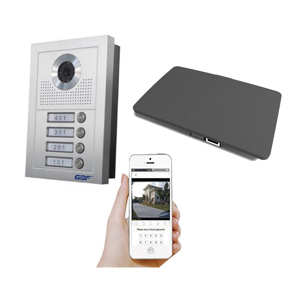 Amazon.com : GBF Smart Video Intercom Doorbell System for Multi-unit ...