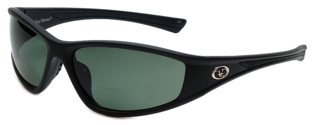 0cdf6de9d6 Amazon.com  Flying Fisherman MA 7302BS-250 Falcon Blk   Smoke Reader    Sunglasses +2.50  Sports   Outdoors