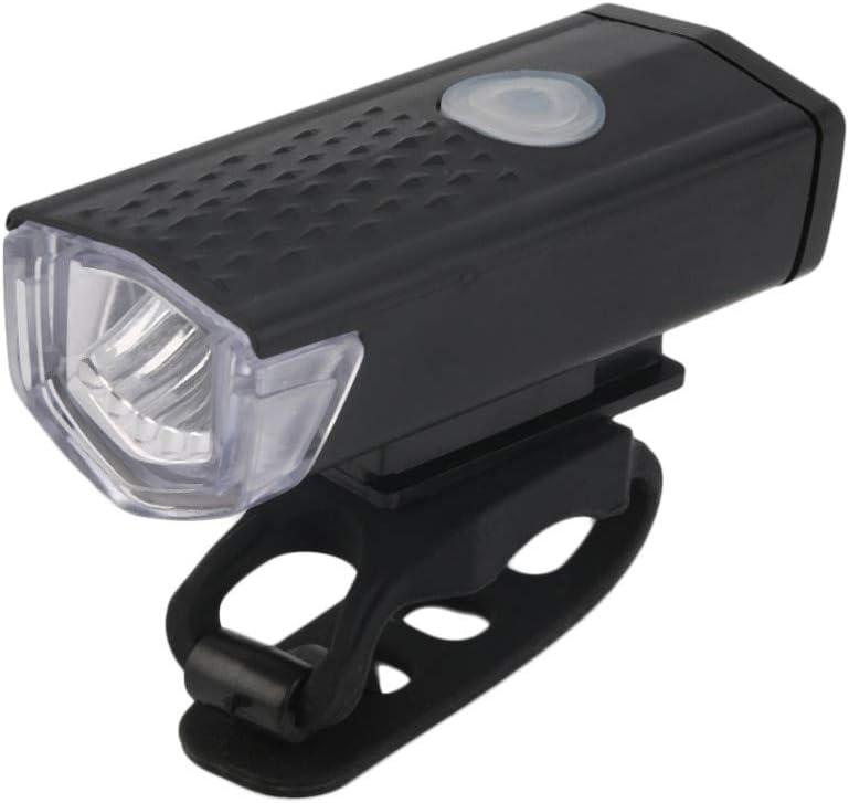 Luz de la Bicicleta Luz Delantera De Bicicleta USB Recargable De ...