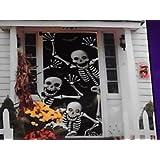 Halloween Door Cover Skeletons