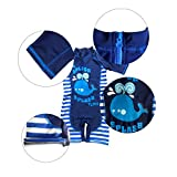 Tuoyi One Piece Swimsuits for Baby Boys Summer Sun