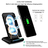 Title change to:PLESON Fast Wireless Charger Cell QI Fast Wireless Charging Pad Stand for Samsung Galaxy Note 8 S8 Plus S8+ S8 S7 S7 Edge Note 5 and Standard Charge for iPhone X iPhone 8 iPhone 8 Plus-No AC Adapter