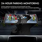 """AUTO-VOX X2 Mirror Dash Cam with 9.88"""" Streaming"""