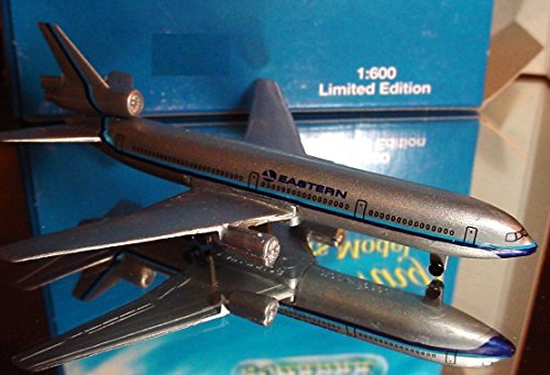 Dc 10 Airplane (Schabak 1:600 Scale Diecast 2902-24 Eastern Airlines Douglas DC-10 Limited)