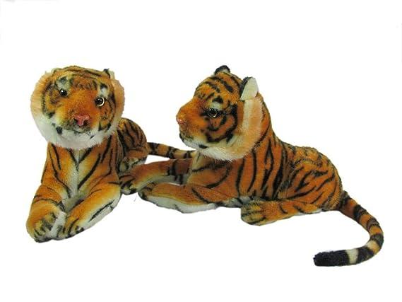 HARDI THRIVE Stuffed Soft Plush Toy Kids Birthday Cute Pair of Tiger 25 cm