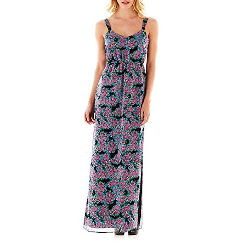 I Heart Ronson Smocked Maxi Dress for Women Size L for sale  Delivered anywhere in USA