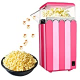 Popcorn Maker,PowerDoF RH-788 High Popping Rate Maker 12-Cup by Hot Air Circulation Without