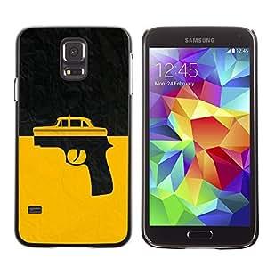 GagaDesign Phone Accessories: Hard Case Cover for Samsung Galaxy S5 - Taxi Gun Taxi Driver