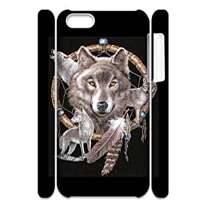 ALICASE Design Diy hard Case Wolf Dream Catcher For Iphone 4/4s [Pattern-1] by lolosakes