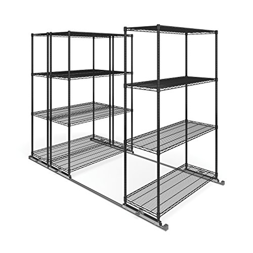 OFM X5L3-4818-BLK X5 Lite 3 4-Shelf Units, 48