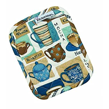 Ritz Kitchen Wears Print Pot Holder, Gourmet Coffee