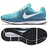 Nike Women's Air Zoom Pegasus 34 Running Shoe Green (8.5)