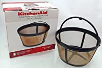 KitchenAid KCM22GTF Gold Tone Reusable Coffee Filter for Models KCM222 and KCM223