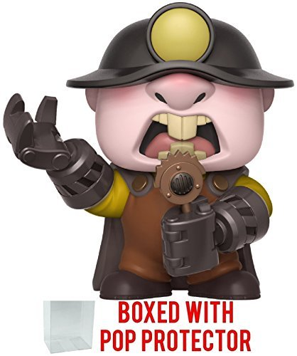 Funko Pop! Disney Pixar: Incredibles 2 - Underminer Vinyl Figure (Bundled with Pop Box Protector Case) -