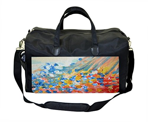 Abstract Pastel Oil Paint Print Design Gym Bag ()