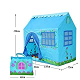 Biscount Blue Garden Pop-Up Play Tent For Boy Indoor & Outdoor Playhouse