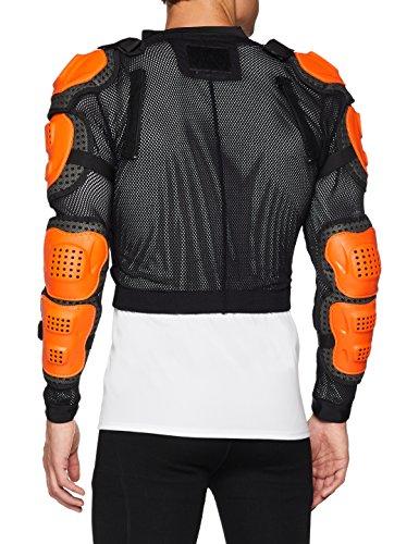 Fox Racing Titan Sport Jacket-Black/Orange-L by Fox Racing (Image #3)
