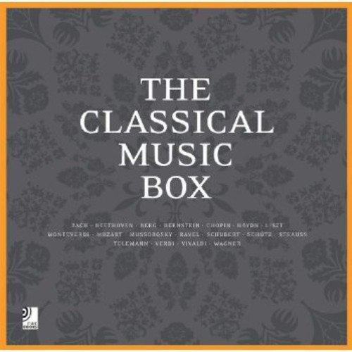The Classical Music Box (Fotobildband inkl. 8 Musik-CDs) [Deutsch/ Englisch] (earBOOKS)