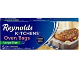 reynolds large oven bags - Reynolds Kitchens Oven Roasting Bags (Large Size, 5 Count, Pack of 12)