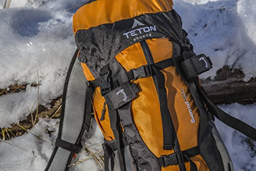 Teton Sports Summit 1500 Ultralight Backpack; Lightweight Daypack; Durable Hiking Backpack for Camping, Hunting, and Travel; Just the Right Size for a Quick Getaway; Don't Settle for the Basics by Teton Sports (Image #6)