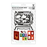DOCrafts Xcut Build-A-Scene Dies-Shadow Box Theatre, 6-Pack