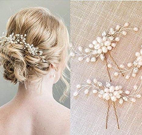 handmadejewelrylady novia Vintage boda partido Crystal Rhinestone pelo  pasadores cabello accesorios mujeres accesorio para la cabeza 29d72baeb30f