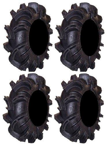 (Full set of Gorilla Silverback 32x10-14 ATV Mud Tires (4))