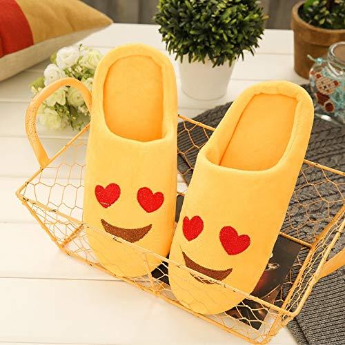 Fumetto Yellow Scarpe Fuori Inverno Antisdrucciolevole Calda Donne Nsbm Delle Del Pantofole Adorabili Molle Donna Cotone Casa Pattini Di z0vTqd