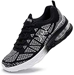 LSGEGO Running Shoes Women Air Cushion Athletic Sneakers Lightweight Walking Shoes Women Fitness Sports Shoes