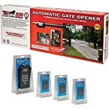 Mighty Mule Single Gate Standard Package with Keypad and Extra Remotes, Model# FM500-STP