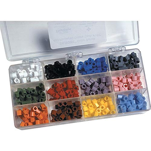 Silitone Color Bands Kit Expandable from 4 mm to 12 mm Assorted Silicone Autoclavable 480/Box