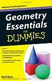 Geometry Essentials for Dummies, Mark Ryan and Rachel Wetzsteon, 1118068750